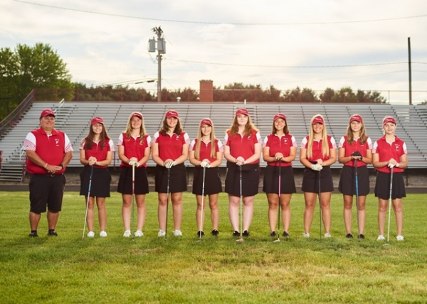 2019 Field Varsity Girls Golf team