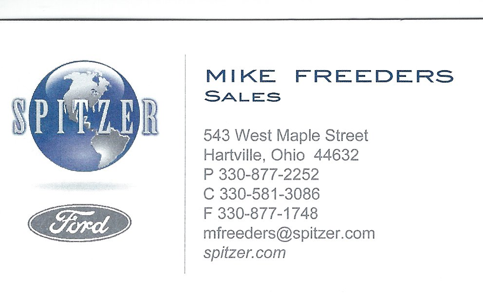 Mike Freeders Spitzer Ford