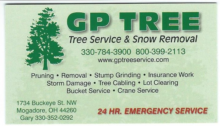 Business cards for Tree service business card