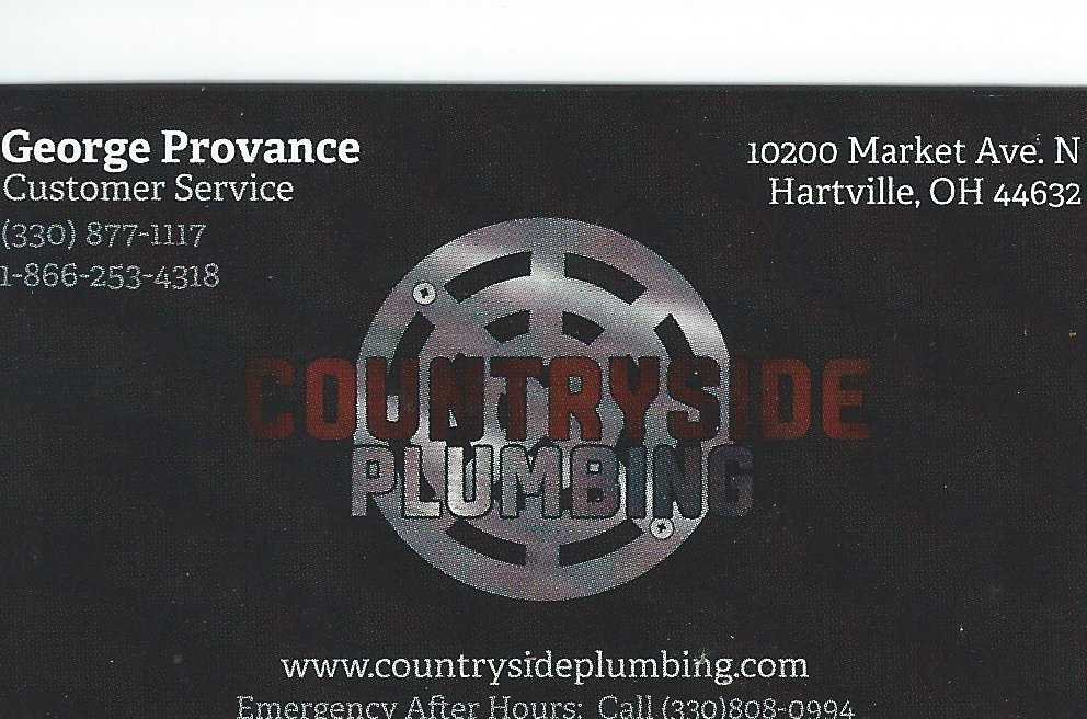 George Provance Countryside Plumbing