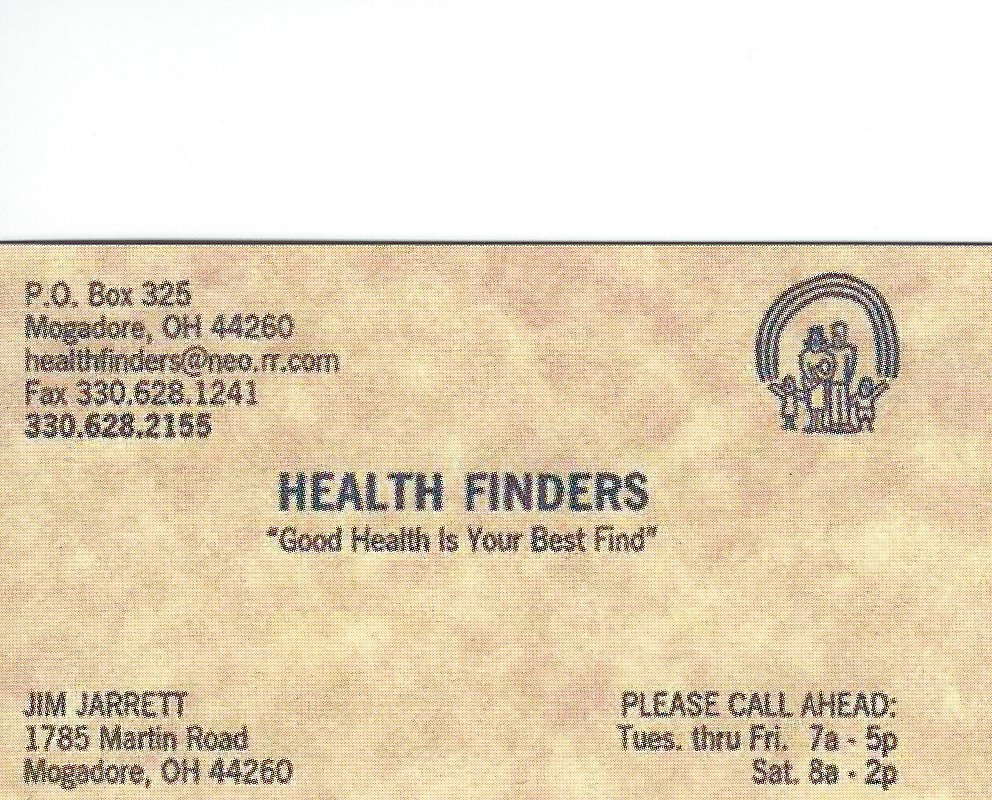 Jim Jarrett Health Finders