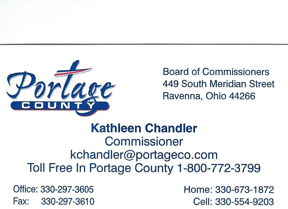 Kathleen Chandler Portage Co Commissioner