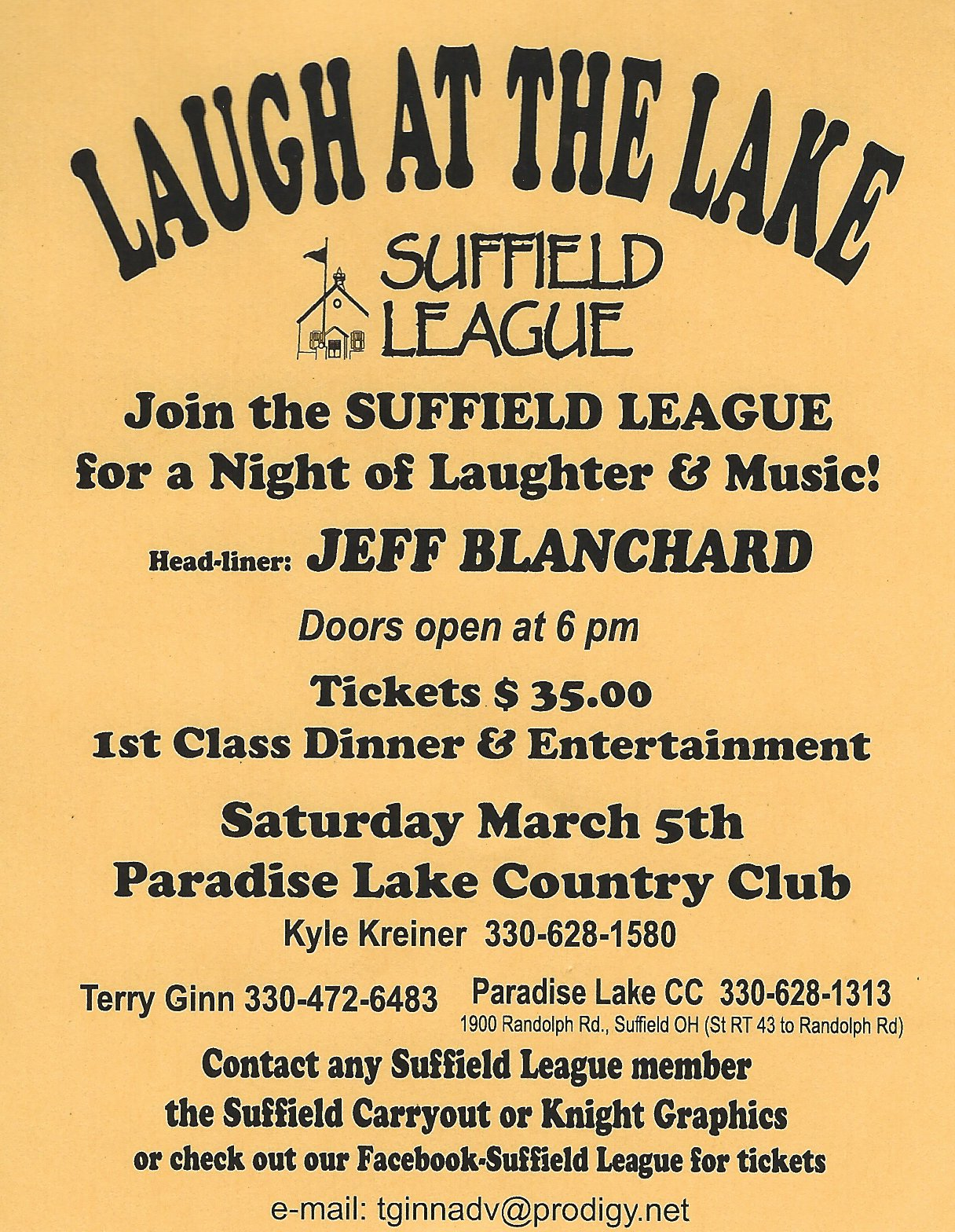 Laugh at the Lake 2016