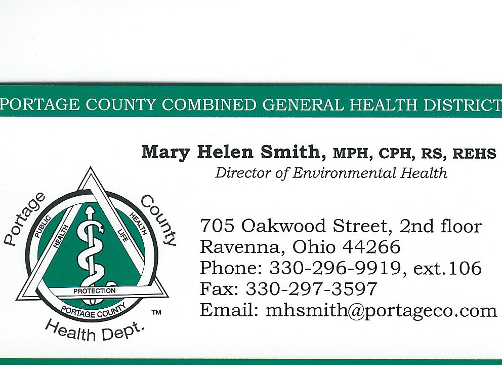 Mary Helen Smith Portage Co Health Dept
