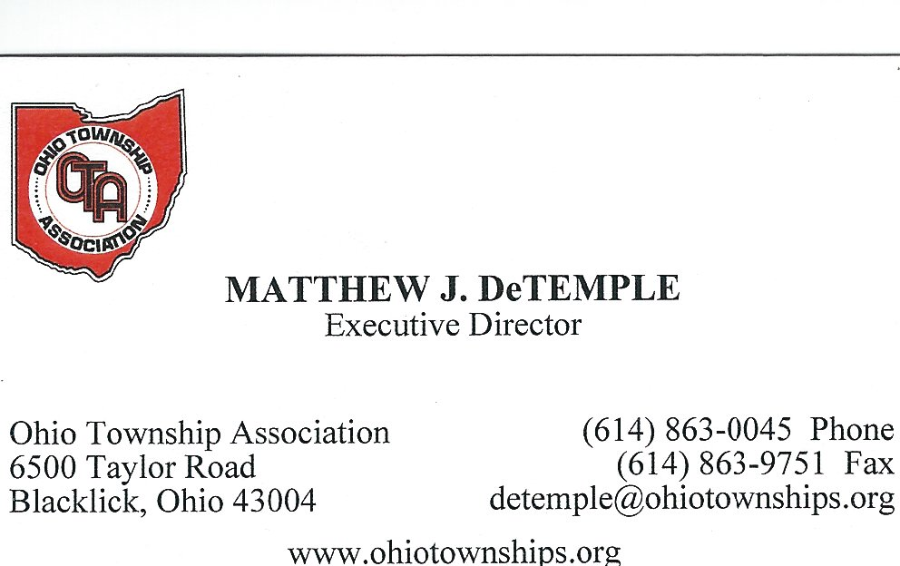 Matthew DeTemple Ohio Twp Assoc