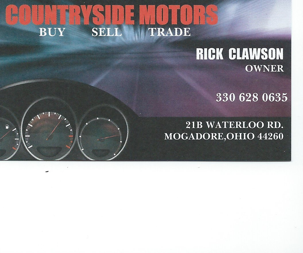 Rick Clawson Countryside Motors
