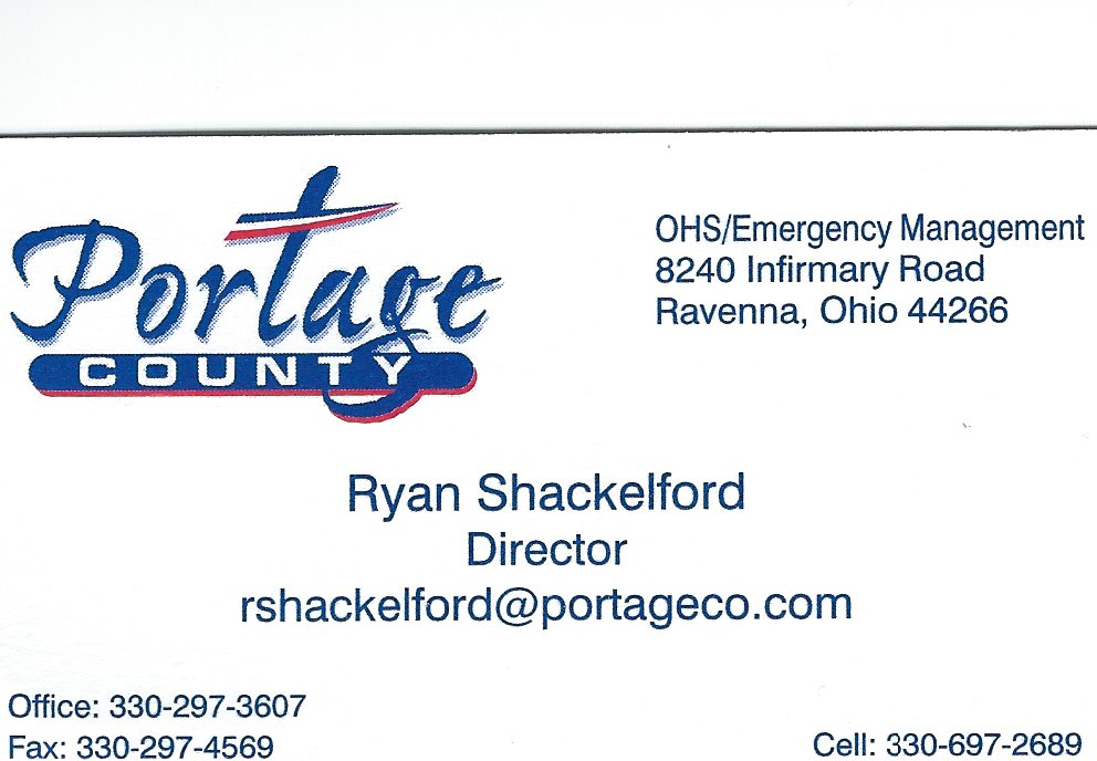 Ryan Shackleford PC Emergency Management