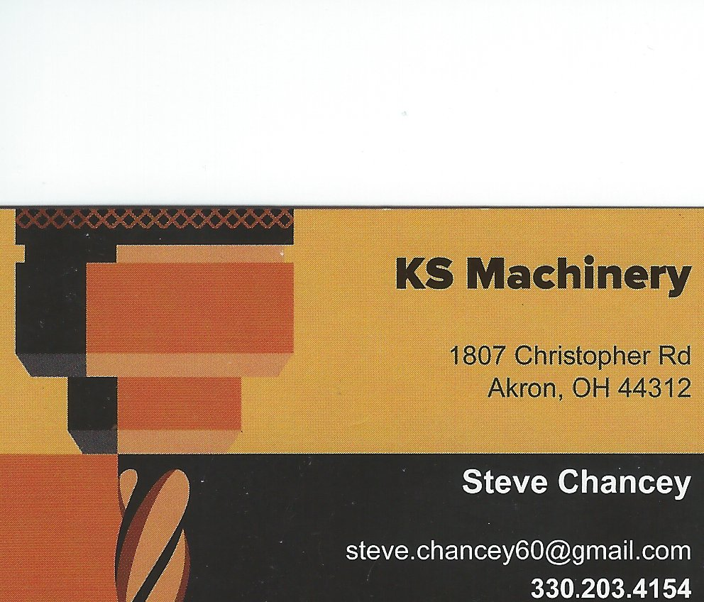 Steve Chancey KS Machine