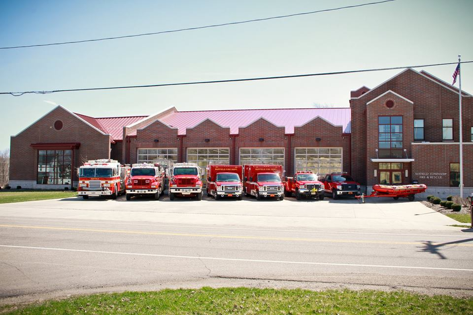 Suffield Fire vehicles 2014