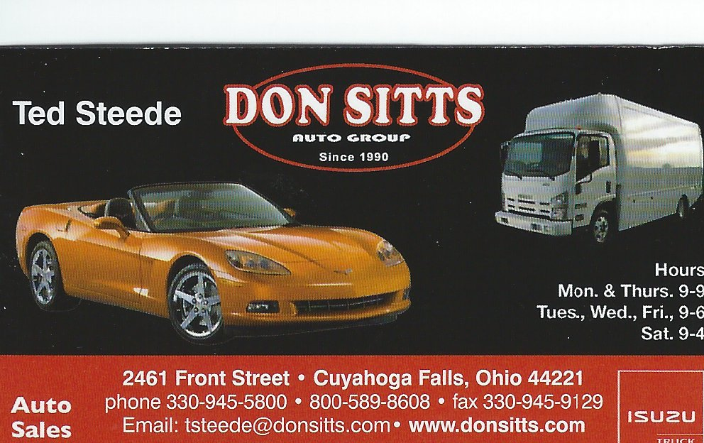 Ted Steede Don Sitts Auto