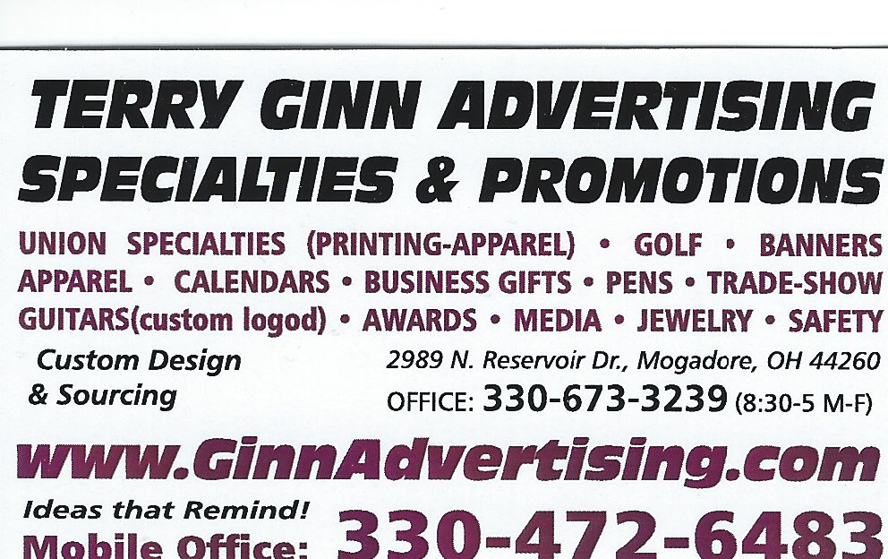 Terry Ginn advertising